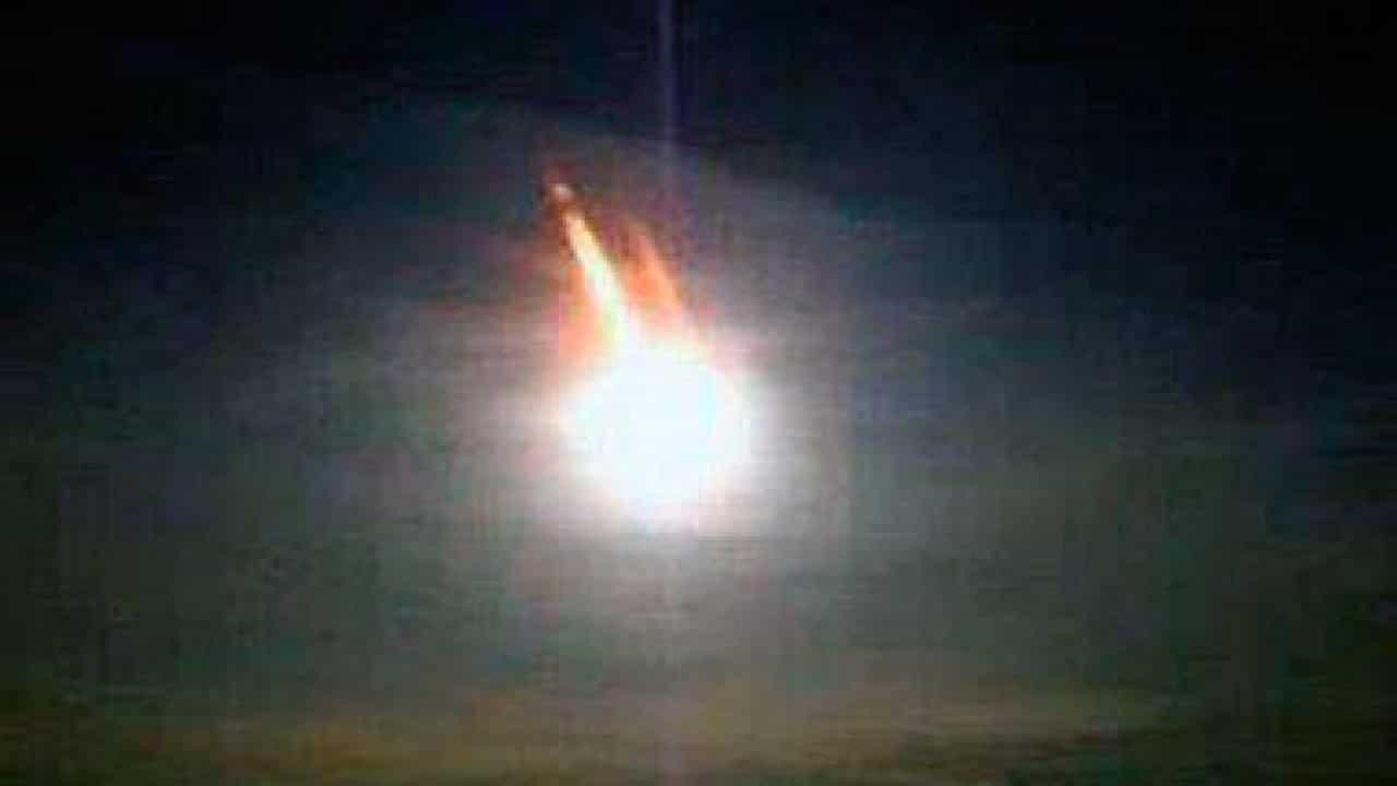 Misteriose meteoriti di fuoco sono cadute in Cile