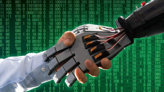 Robot con la pelle in grado di percepire l'ambiente circostante