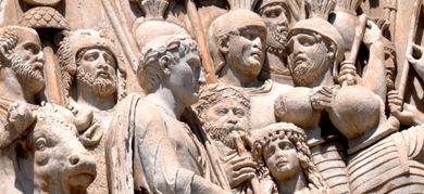 Dettaglio dell'Arco di Costantino (©Lanzellotto Antonello/AGF)