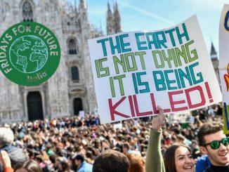 In piazza per contrastare il riscaldamento globale e il clima pazzo