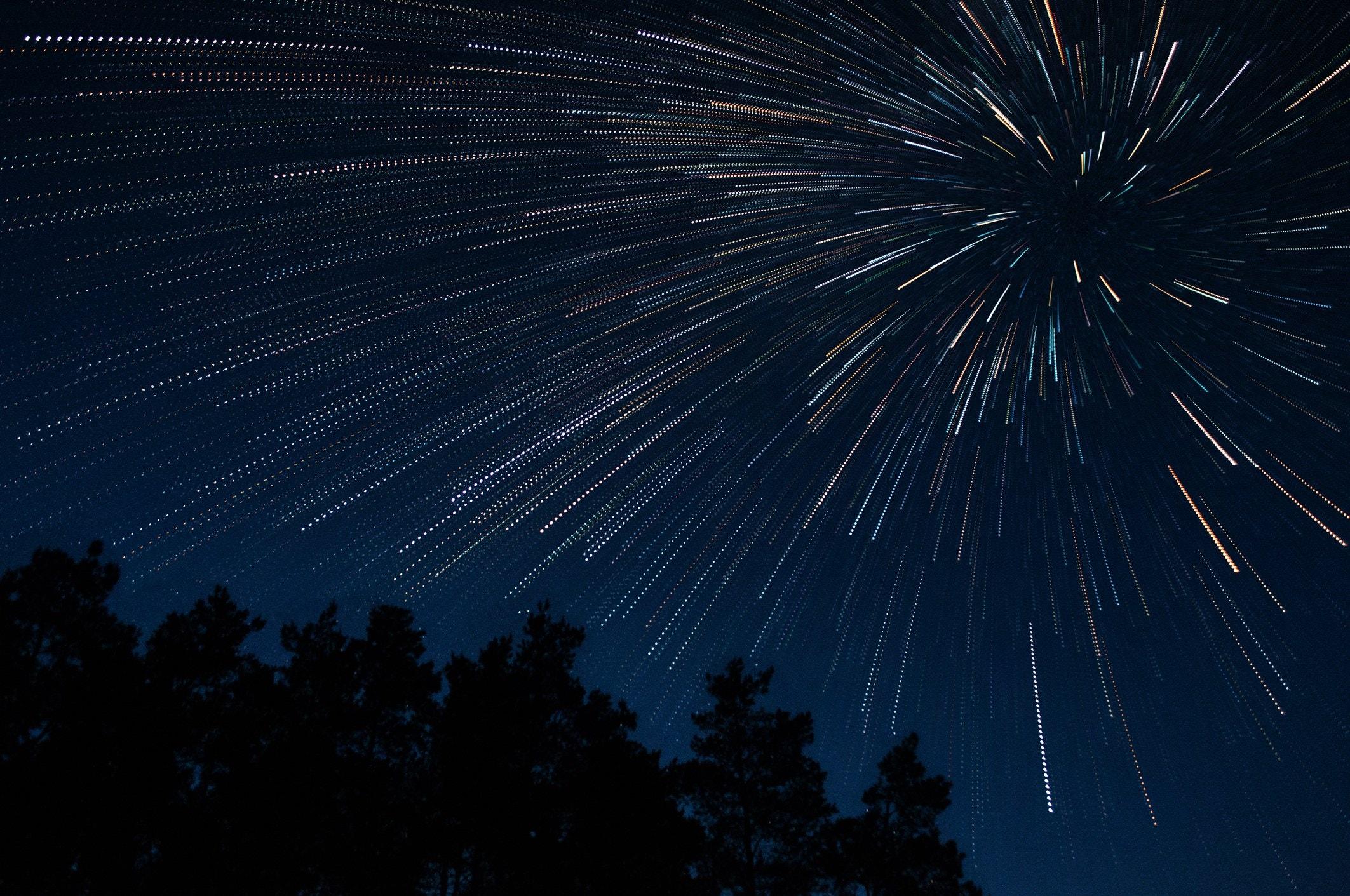 Tempesta di meteore delle Alfa Monocerontidi fra oggi e domani