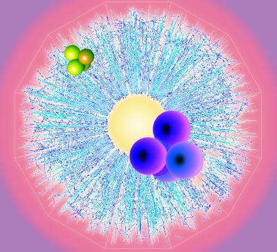 Trovati isotopi di antielio-4 dal rilevatore di antimateria