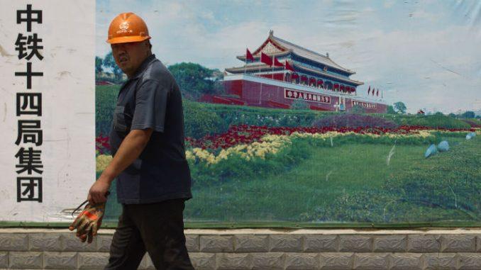 Cina-stagflazione (AP Photo/Alexander F. Yuan)