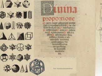 De Divina Proportione di Leonardo nell'Uomo di Vitruviano