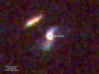 Osservata un'esplosione di stelle molto massicce GRB