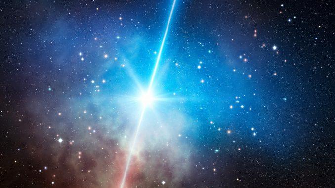 I gemelli Magic studiano eventi brillanti di emissione raggi Gamma