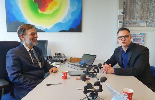 Peter Baltus (left) and Sjoerd Hulshof . Photo | Norbine Schalij