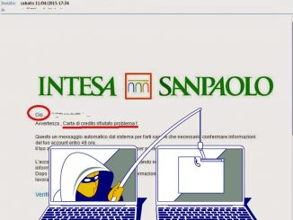 Email di pishing carpiscono segreti bancari