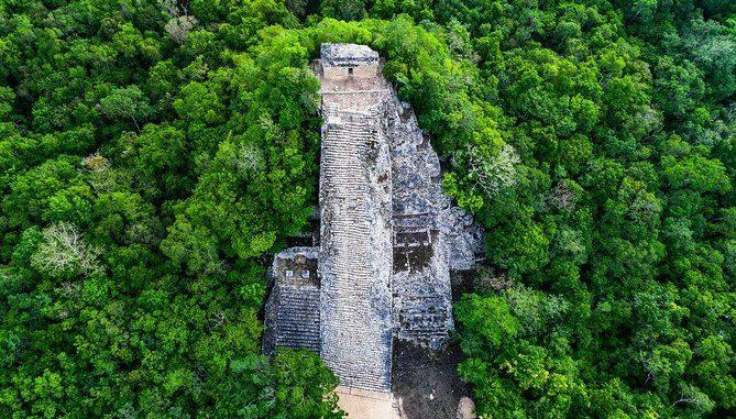 Reperto della civiltà Maya scoperto intatto grazie agli alberi