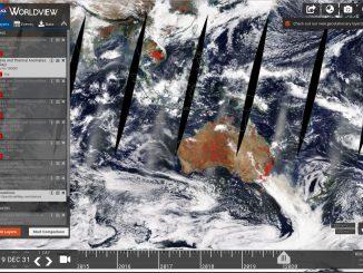 L'Australia in fiamme vista dai satelliti Sentinel