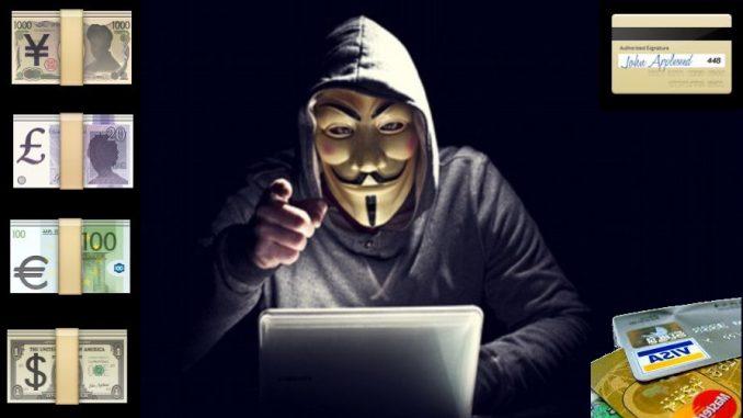 In vendita, sul dark web, milioni di codci hackerati di carte di credito
