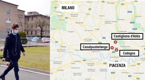 Contagi anche in Italia con il coronavirus cinese