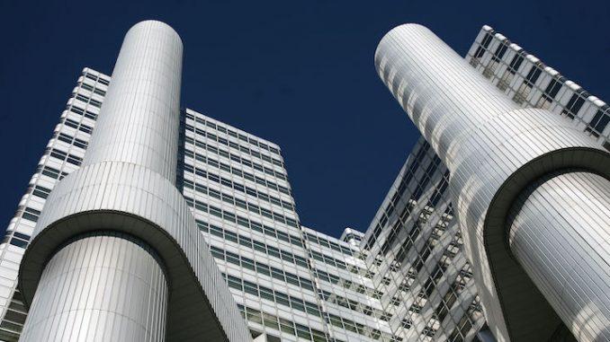 La sede della HypoVereinsbank, a Monaco di Baviera (Johannes Simon/Getty Images)