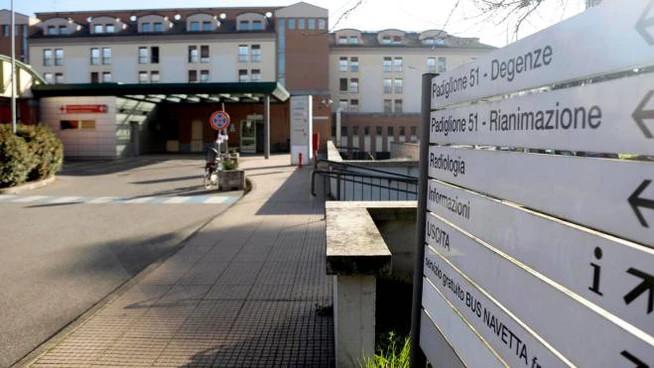 L'ospedale Sacco di Milano (Ansa)