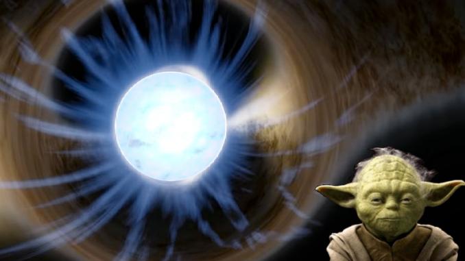 Simulazione di una stella di neutroni. Crediti: Wikimedia Common