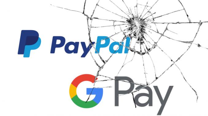 PayPal e GooglePay