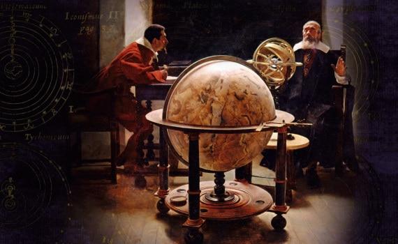 Galileo con Vincenzo Viviani, suo discepolo e assistente dal 1639.