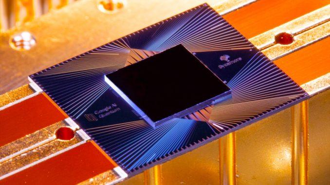 chip quantico al silicio