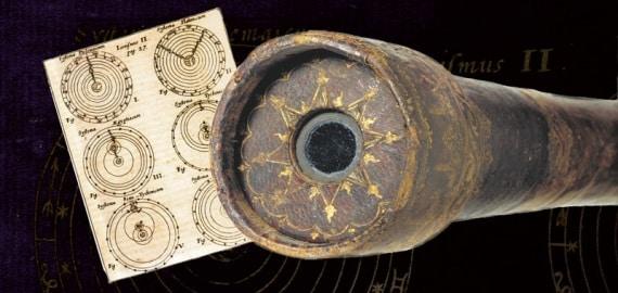 Il telescopio che accrebbe la fama dello scienziato e i vari sistemi cosmologici a confronto: da Tolomeo fino a Copernico. |