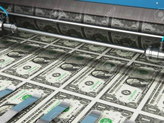 Gli Stati Uniti stampano miliardi di dollari per la crisi pandemica