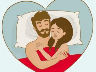 Dormire con la presenza del partner fa sognare meglio