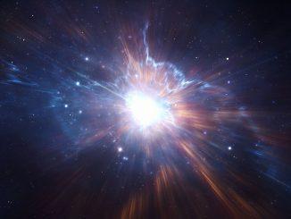 Buco nero supermassiccio esplode in raggi gamma