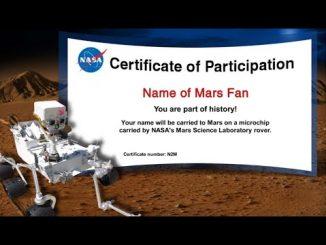 Name the Rover, manda il tuo nome su Marte