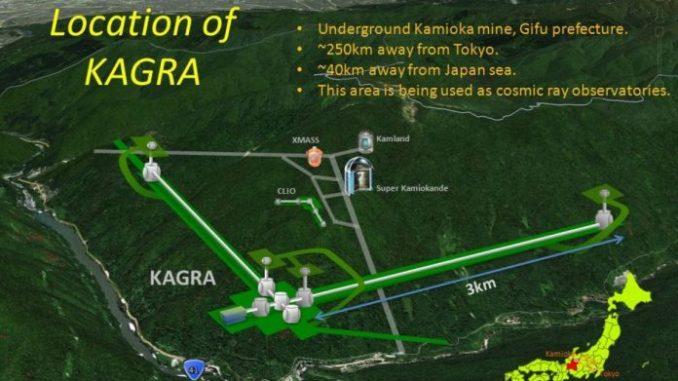 Kamioka Gravitational Wave Detector (KAGRA) e sarà situato interamente sottoterra, esattamente 200 metri sotto il monte Ikenojama, nel Giappone centrale