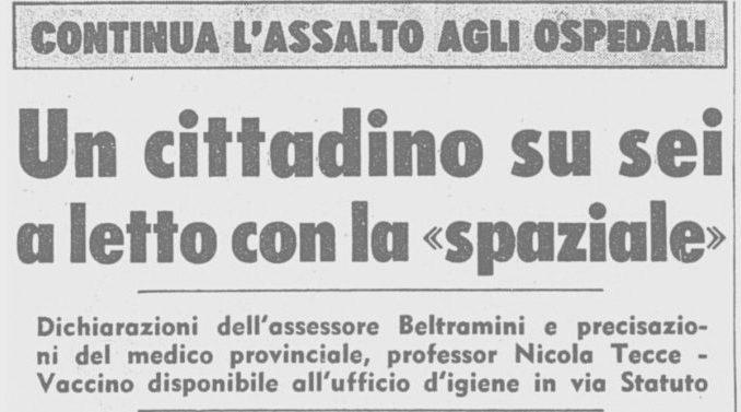 Un articolo sulla prima pagina dell'edizione milanese del Corriere della Sera, il 29 dicembre 1969