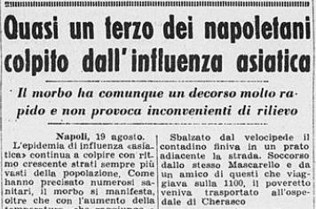 Un articolo pubblicato dalla stampa il 20 agosto 1957