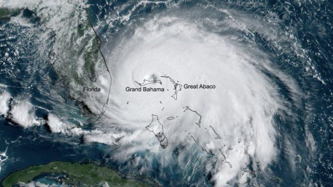 L'uragano Dorian (Noaa)