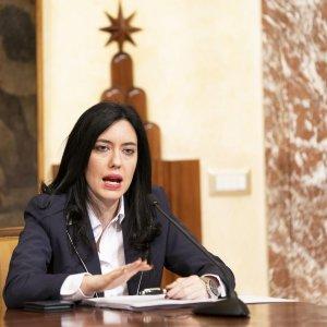 La ministra dell'Istruzione Lucia Azzolina(ansa)