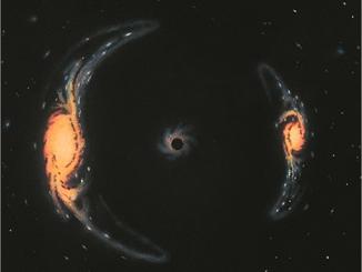 L'effetto lente gravitazionale conferma la teoria della relatività