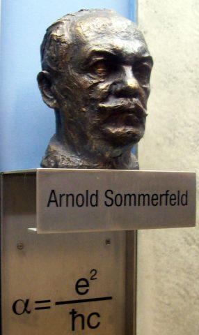 Monumento commemorativo di Sommerfeld, presso l'Università di Monaco