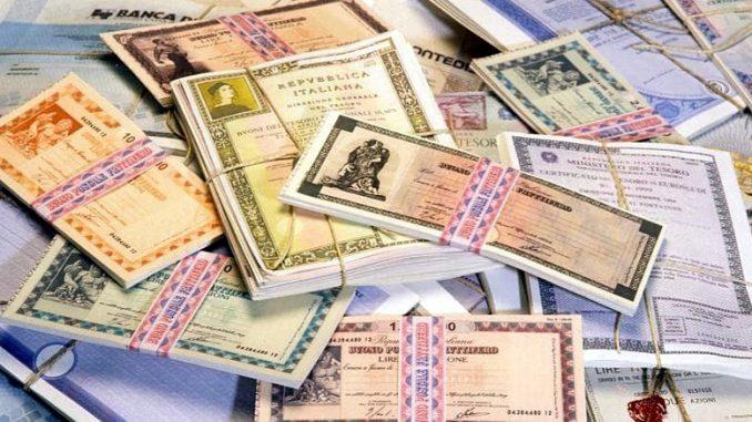 Offerta illimitata di buoni del Tesoro pluriennali anticrisi