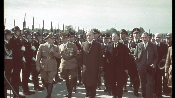 Benito mussolini con Hitler