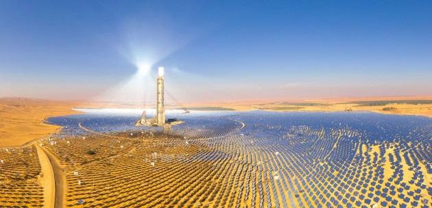 Una centrale elettrica fotovoltaica nell'Oasi Bahariya, in Egitto. | Shutterstock