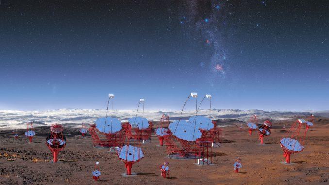 I radiotelescopi mondiali alla ricerca dell'origine dei neutrini