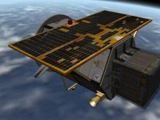 Il satellite Agile, telescopio spaziale interamente made in Italy, in orbita attorno alla Terra, che ha conseguito risultati scientifici fondamentali, tra cui quello di aver rilevato il primo Frb di origine galattica. Crediti: Asi