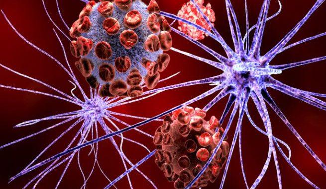 Il virus dell'herpes simplex può causare l'encefalite