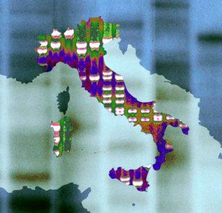 Mappa genetica dell'Italia