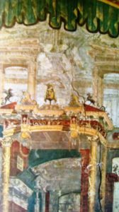 Affresco. da Ercolano. Museo Archeologico Nazionale. Napoli