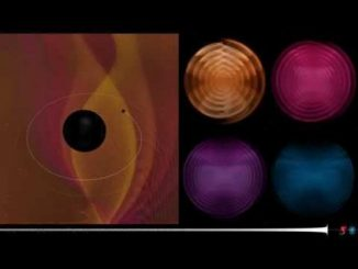 Registrate le onde gravitazionali della fusione di due corpi spaziali