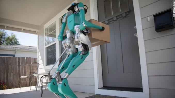 Robot postino della Ford farà firmare le raccomandate