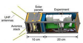 """Il dispositivo quantistico realizzato dagli scienziati (credito: <a href=""""https://www.osapublishing.org/optica/abstract.cfm?uri=optica-7-7-734"""" rel=""""nofollow"""" data-aalisten=""""1""""> doi: 10.1364/OPTICA.387306 – OSA</a>)"""