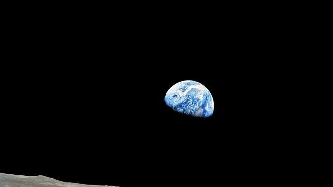 La Terra vista dalla LUna missione Apollo 8