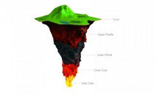 Dentro il nostro pianeta: la mappa in 3D della Terra fino a 1.800 km di profondità