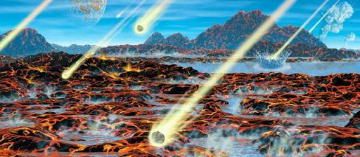 Aminoacidi fondamentali della vita creati dagli impatti degli asteroidi