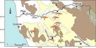 Toscana: Leonardo avrebbe trovato la balena fossile in una caverna.