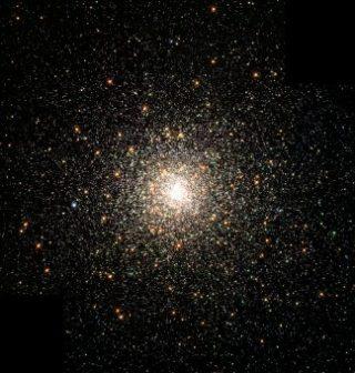L'ammasso globulare M80; la sua distanza è stimata in circa 28000 anni luce dal Sole e contiene centinaia di migliaia di stelle. Crediti: Nasa, The Hubble Heritage Team, Stsci, Aura